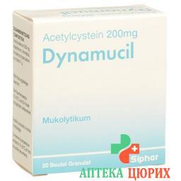 Динамуцил гранулы 200 мг 20 пакетиков