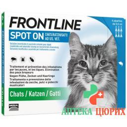 Frontline Spot On Katze Liste D 6x 0.5мл
