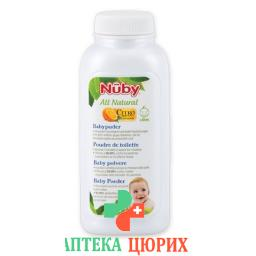 Nuby All Naturals Baby Puder 90г