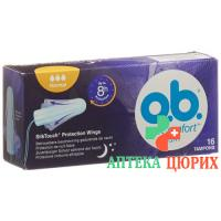 Ob Flexia Pro Comfort Tampons Night Normal 16 штук