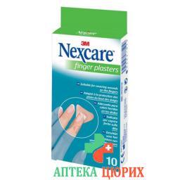 3М Некскеа Пластыри для пальцев 10 шт