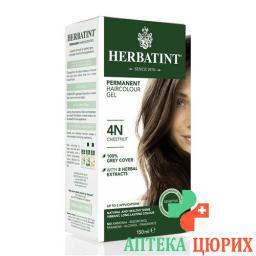 Herbatint Haarfarbegel 4n Kastanien Braun 150мл