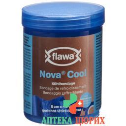 Flawa Nova Cool Kuhlbandage 8смx3m Kohasive