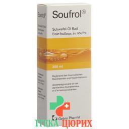 Soufrol Schwefel-oel-bad бутылка 300мл