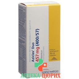 Ациклав Дуо 457 мг суспензия 70 мл