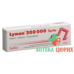 Лиман 200 000 Форте мазь 100 г