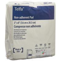Kendall Telfa Kompressen 7.5x20см в пакетиках 200 штук