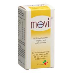 Mevil Nahrhefetabletten 90 штук