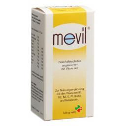 Mevil Nahrhefetabletten 216 штук
