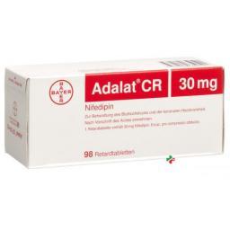 Адалат СР 30 мг 98 ретард таблеток
