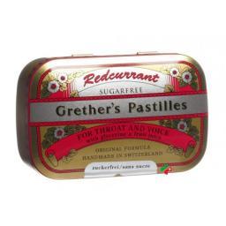 Гретхерс пастилок Редкуррант без сахара 110 грамм
