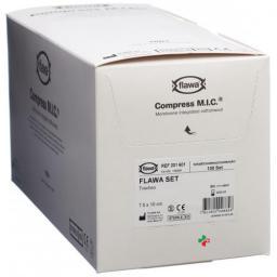 Flawa Mic Tracheo компресс 7.5x10см стерильный 100 штук