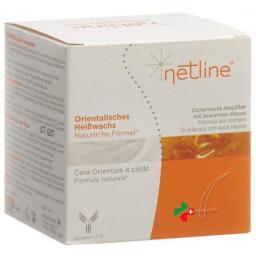 Netline Warmwachs mit Zucker 250мл