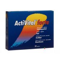 Активитал Форте Апельсин лиме 10 пакетиков шипучий порошок