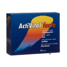 Активитал Форте Апельсин лиме 20 пакетиков шипучий порошок