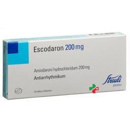 Эскодарон 200 мг 20 таблеток