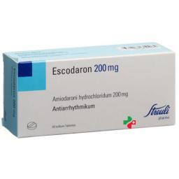 Эскодарон 200 мг 60 таблеток