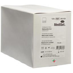 IVF Wattestabchen Plastik 14см Gross стерильный 2 штуки