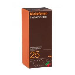 Диклофенак Хелвефарм 25 мг 100 таблеток