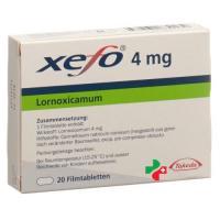 Ксефо 4 мг 20 таблеток