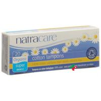 Natracare Tampons Super 20 штук