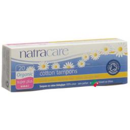 Natracare Tampons Super Plus 20 Stucl