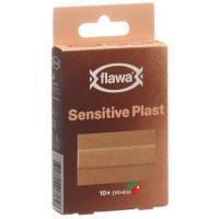 Flawa Sensitive Plast 6x10см 10 штук