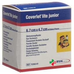 Coverlet Lite Junior Occlusionspfl 4.7x6.7см 40 X