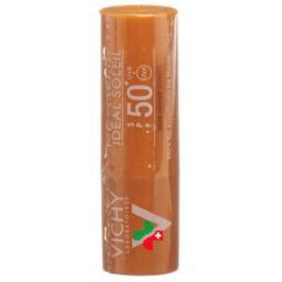 Vichy Ideal Soleil Stick fur empfindliche Hautpartien LSF 50+