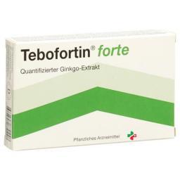 Тебофортин Форте 80 мг 30 таблеток покрытых оболочкой