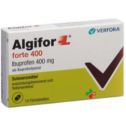 Алгифор-Л форте 400 мг 10 таблеток покрытых оболочкой