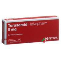 Торасемид Хелвефарм 5 мг 20 таблеток