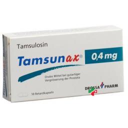 Тамсунакс 0.4 мг 10ретардкапсул