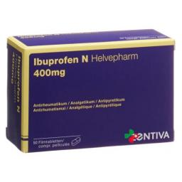 Ибупрофен Н Хелвефарм 400 мг 50 таблеток покрытых оболочкой