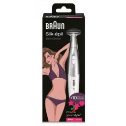 Braun Silk Epil Bikini Styler Fg 1100 Weiss