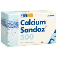 Кальций Сандоз 500 мг 20 шипучих таблеток