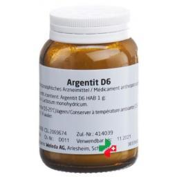 Weleda Argentit Trit D 6 50г