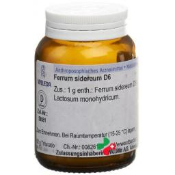 Weleda Ferrum Sidereum Trit D 6 50г