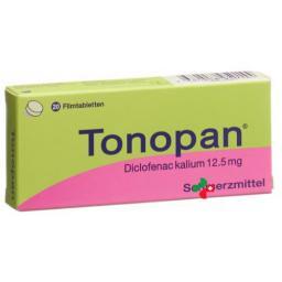 Тонопан 12,5 мг 20 таблеток покрытых оболочкой