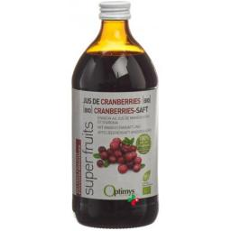OPTIMYS CRANBERRIES SAFT BIO