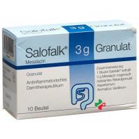 Салофальк гранулы 3 г 10пакетиков