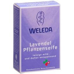 Weleda Lavendel Pflanzenseife 100г