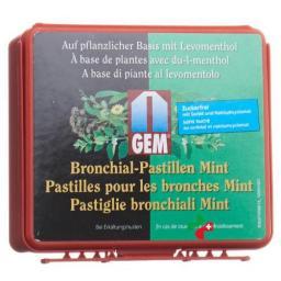 Gem Bronchial пастилки Mint 36 штук