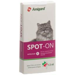 Amigard Spot-on Katze 3x 1.5мл