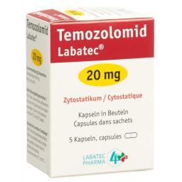 ТемозоломидЛабатек 20 мг 5 капсул