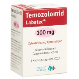TEMOZOLOMID LABATEC 100MG