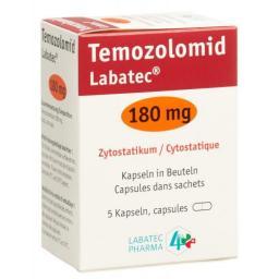 ТемозоломидЛабатек 180 мг 5 капсул