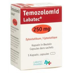 ТемозоломидЛабатек 250 мг 5 капсул