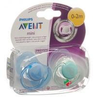 Avent Philips Mini Beruhigungssauger 0-2M Junge
