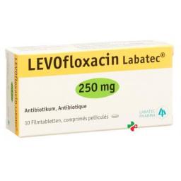 Левофлоксацин Лабатек 250 мг 10 таблеток покрытых оболочкой